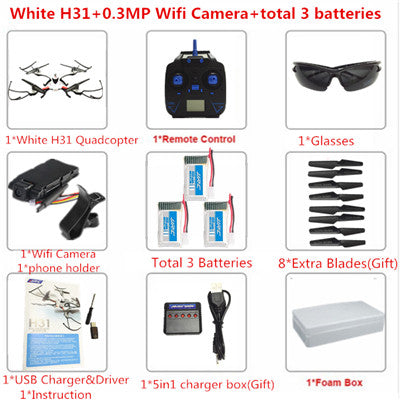 JJRC H31 Professional Quadcopter With Camera Or No Camera 6 Axis Waterproof Resistance VS JJRC H37