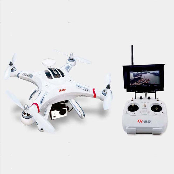 Cheerson CX-20 2.4G FPV RC Professional Quadcopter 4-Axis Auto-Pathfinder Aircraft with FPV camera