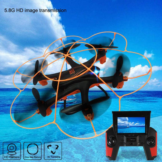 Mini Quadcopter RC drone with Camera Wltoy Q383 2.4Ghz 5.8G FPV 2MP Monitor Display