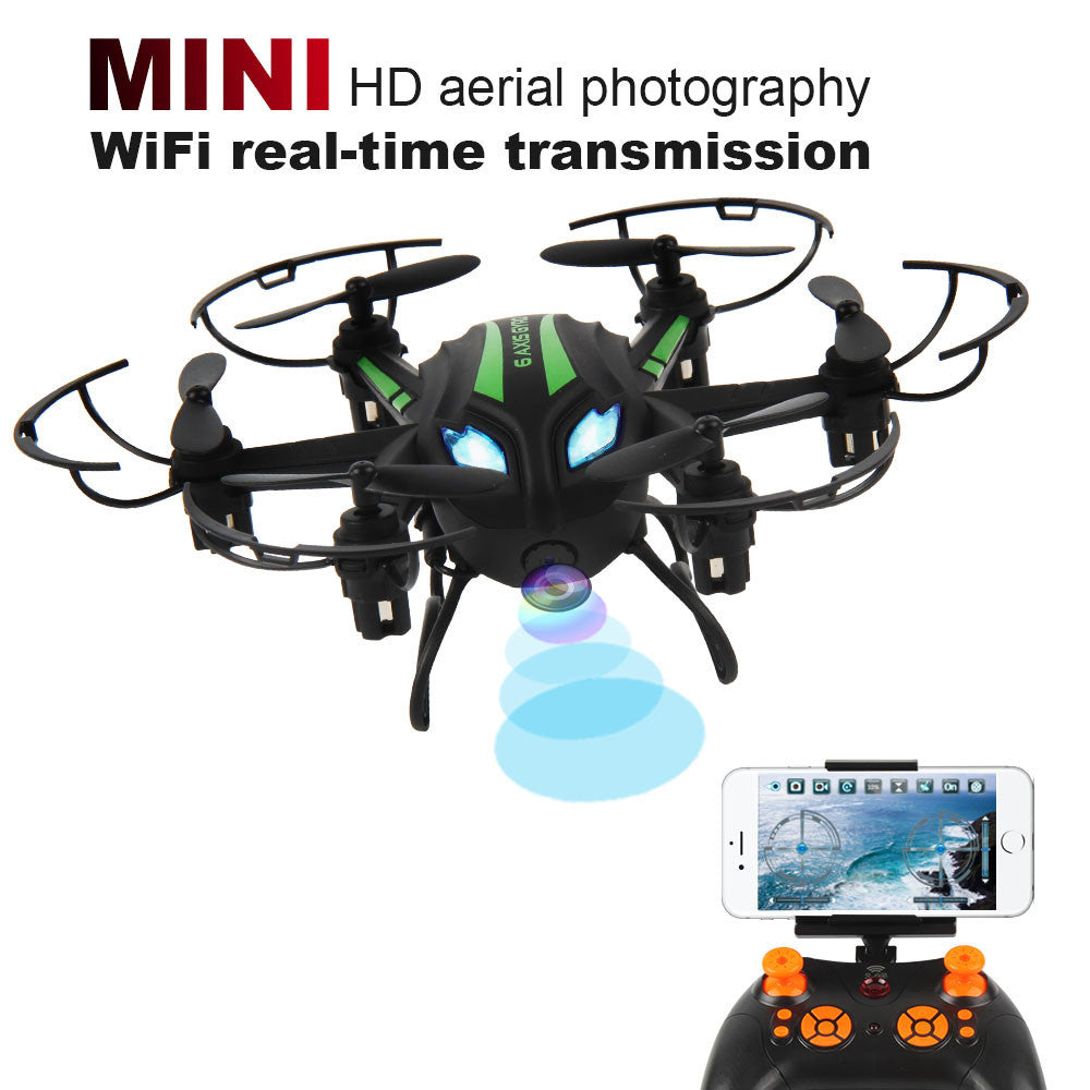 Mini RC Quadcopter with WIFI Camera 2.4GHz 4CH 6-Axis Gyro 3D UFO Drone FPV