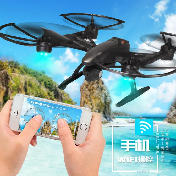 Mini Quadcopter RC Headless Drone with Camera JXD 509W WiFi FPV Camera High Hold 2.4GHZ 4CH 6-Aixs