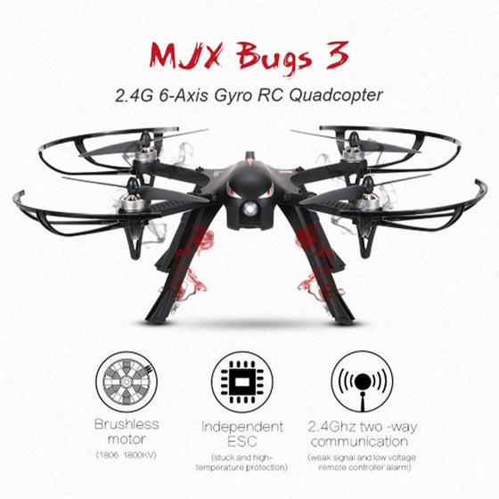 Professional Drone MJX Bugs 3 Quadcopter With 4k/1080P Wifi HD Camera