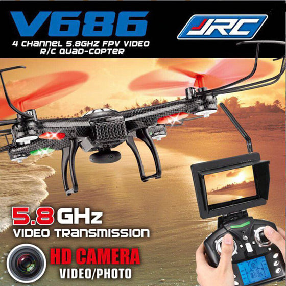 JJRC V686g Fpv RC Professional Quadcopter Drones With HD Camera