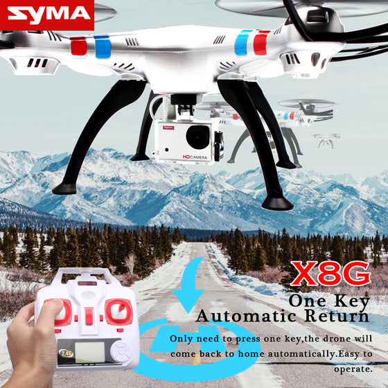 SYMA X8G Professional Drone with 8.0MP Ultra HD Camera RC Quadcopter 3D Rotation Altitude Hold