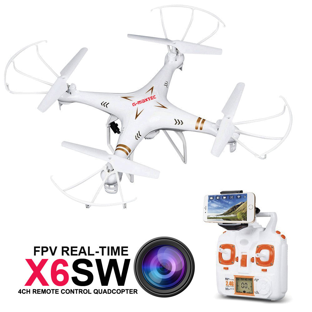 X6SW WIFI Real Time FPV RC Quadcopter Gopro Professional Drone with Camera C4005 VS JJRC X5SW X5C