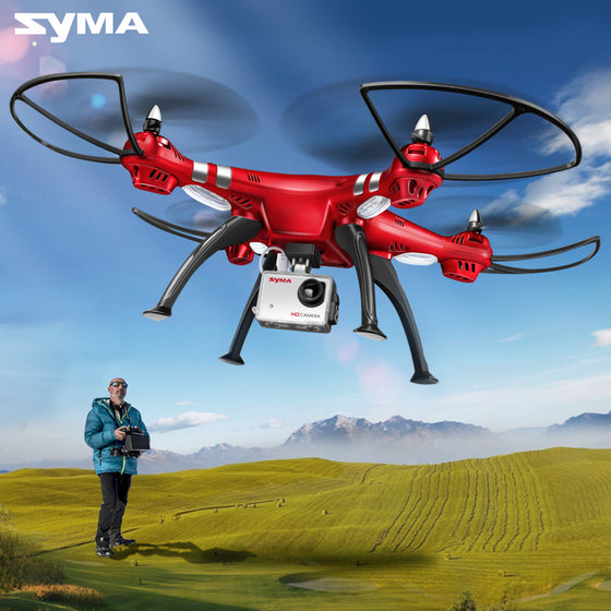 SYMA Professional UAV X8HG X8HW X8HC 2.4G 4CH RC Helicopter Drones 1080P 8MP HD Camera Quadcopter