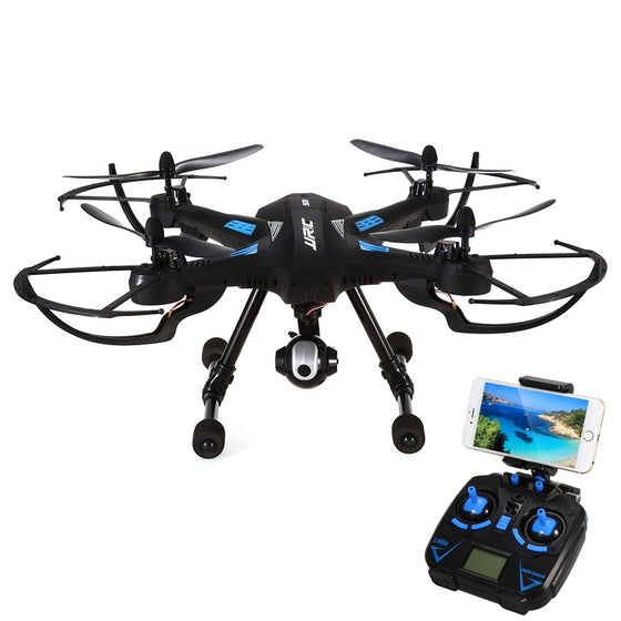 JJRC H26WH Quadcopter 2.4G FPV 4CH 6 Axis Gyro RC RTF Professional Drone With Camera RC