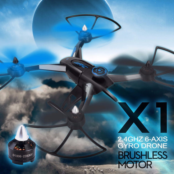 JJRC X1 Brushless Motor 6-Axis Gyro Professional Quadcopter RC Drones VS MJX X101 X106 JJRC H33