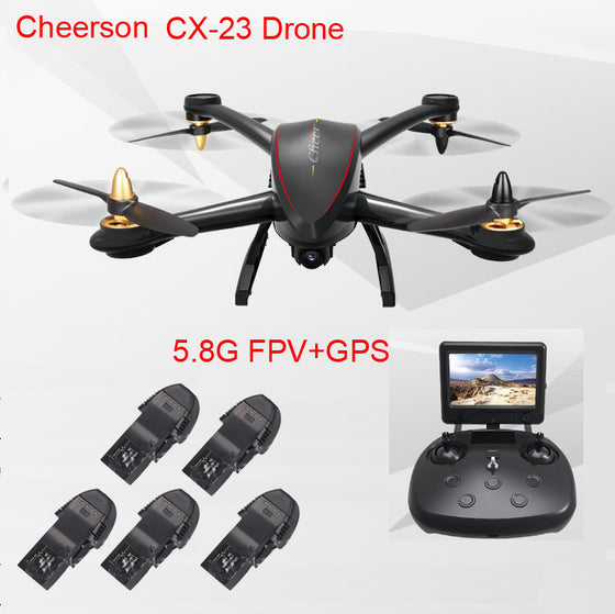 Cheerson CX-23 CX23 GPS 5.8G FPV Quadcopter drone With 720P HD Camera GPS High Hold Mode