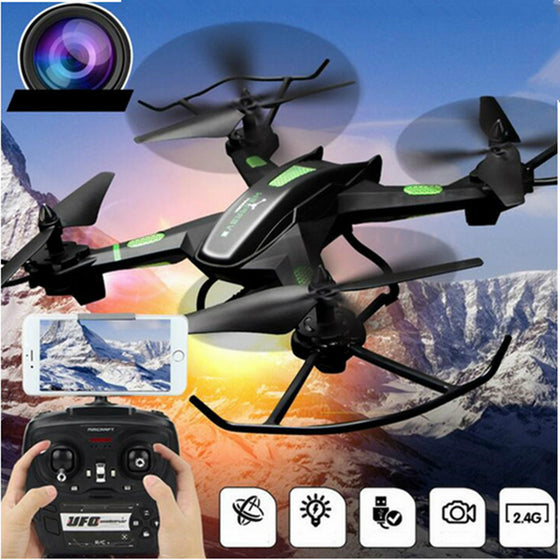 JJRC Remote Control Helicopter Mini Drone 4-Axis Aircraft Aerial Photography With Altitude Hold