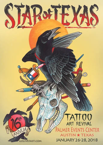 Star Of Texas Tattoo Art Revival Convention + Party