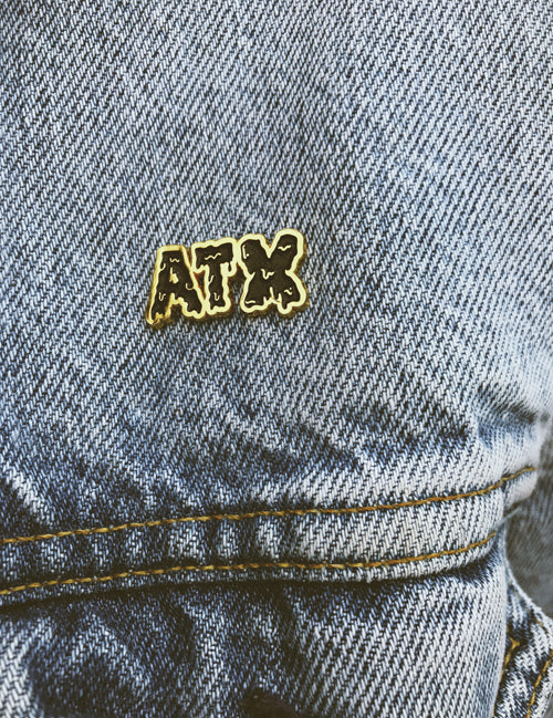 ATX Black & Gold Pin