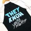 They Know You're High Baseball Tee