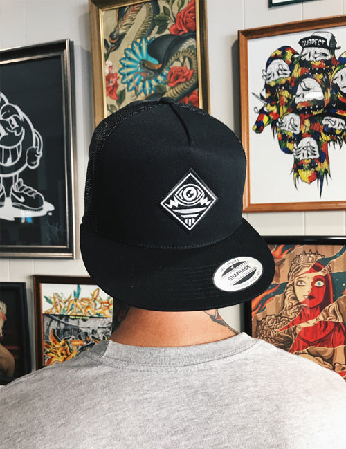 Black Mindzai Trucker Hat
