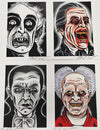 "Dan Gagné - ""The Greatest Draculas"" Set Of 4"