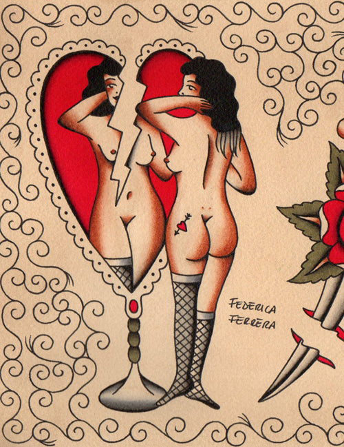 "Federica Ferrera - ""Love And Roses"""