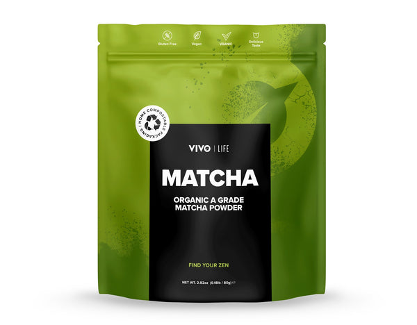 Raw & Organic Matcha Powder