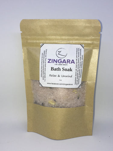 Relax & Unwind- 100% All Natural Soak