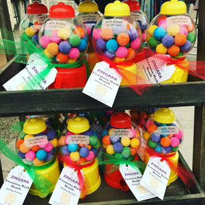 Gumball Machine Bath Bombs
