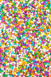 Rainbow Star Sprinkles