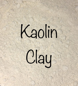 White Kaolin Clay