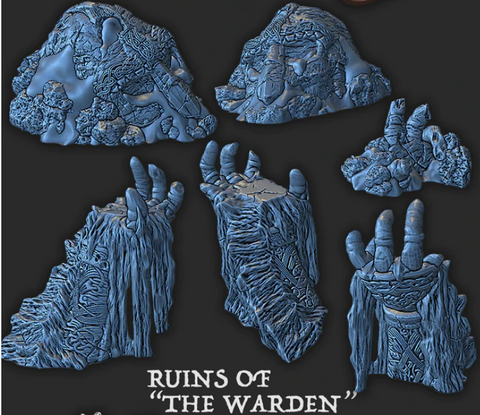 Wintertide - Ruins of the Warden