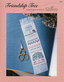 The Victoria Sampler - Friendship Tree Sampler Leaflet  - needlework design company