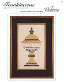 The Victoria Sampler - Frankincense Sampler Leaflet  - needlework design company