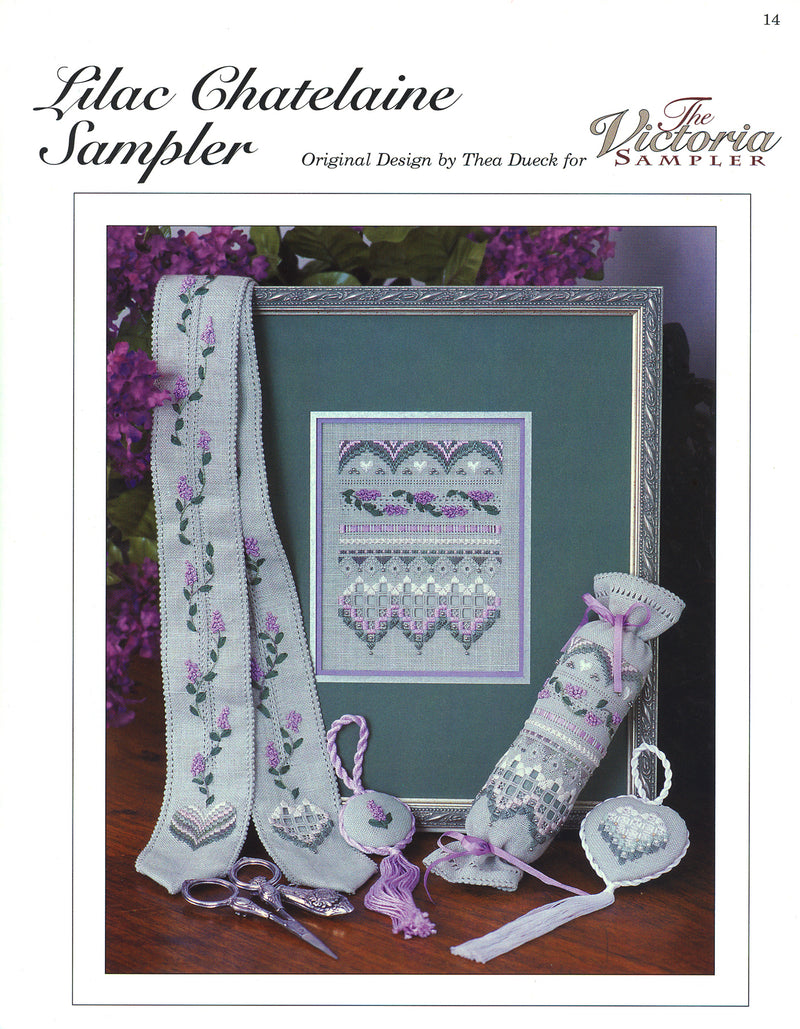 Lilac Chatelaine Sampler Leaflet - Part One of Smalls Series