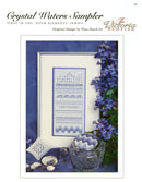 The Victoria Sampler - Crystal Waters Sampler Leaflet  - needlework design company