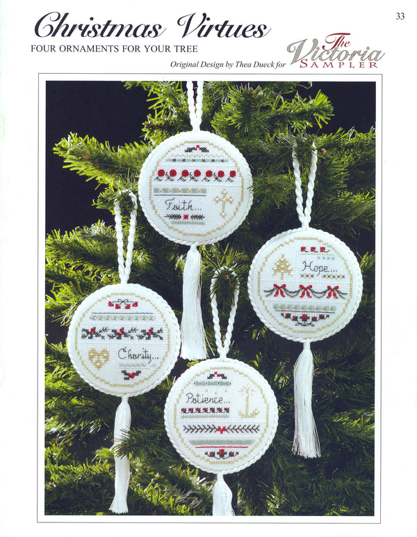 Christmas Virtues I Ornaments Leaflet