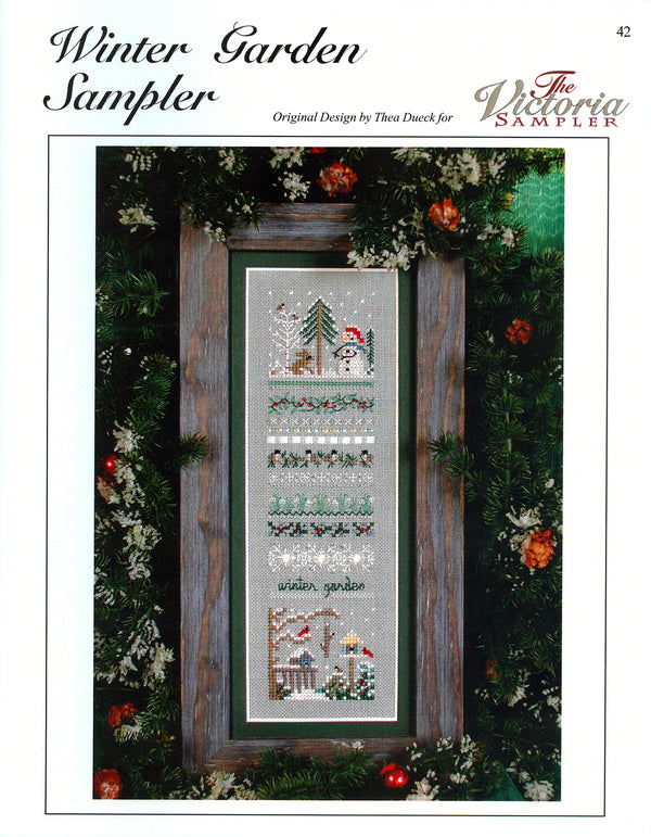 Winter Garden Sampler Leaflet - Part Six - Victorian Garden Series