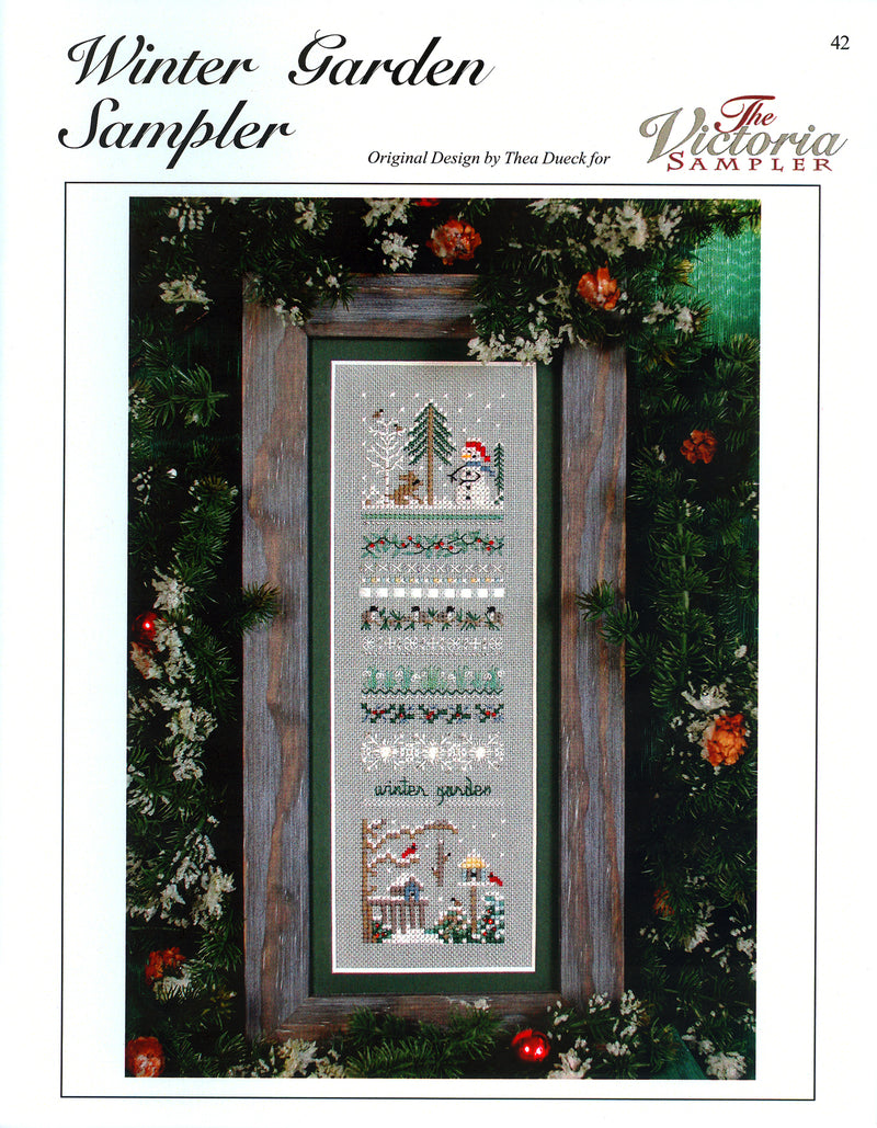 Winter Garden Sampler Leaflet