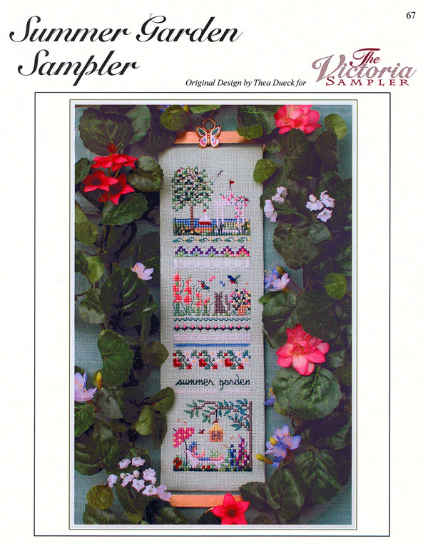 Summer Garden Sampler Leaflet - Part Ten - Victorian Garden Series