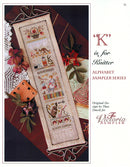 K is for Knitter Alphabet Sampler Leaflet - Part 11 of 24