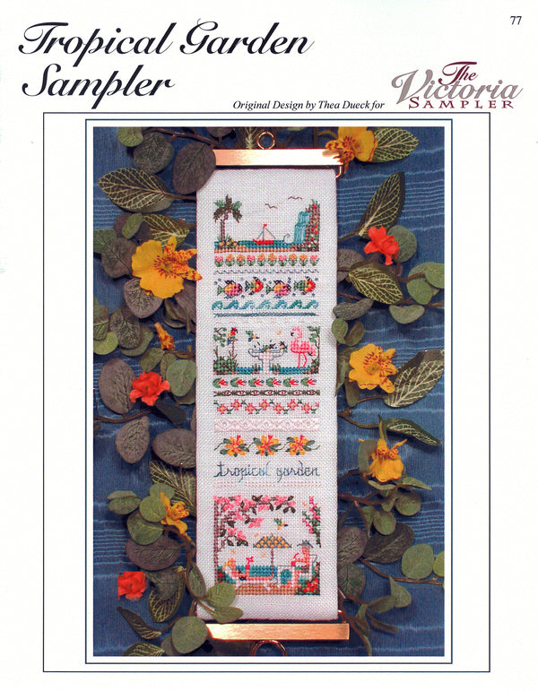 Tropical Garden Sampler Leaflet - Part Twelve - Victorian Garden Series