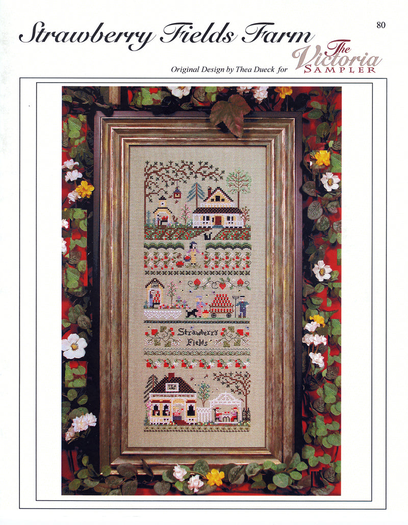Strawberry Fields Farm Sampler Leaflet