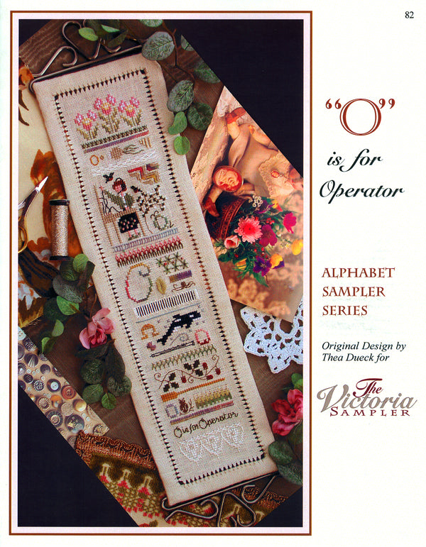 O is for Operator Alphabet Sampler Leaflet