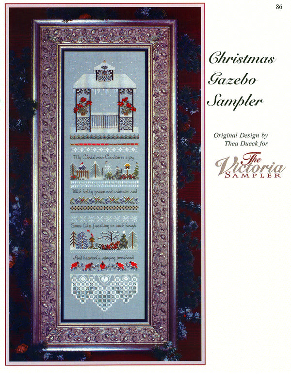 Christmas Gazebo Sampler Leaflet - Part Five  of the Gazebo Series