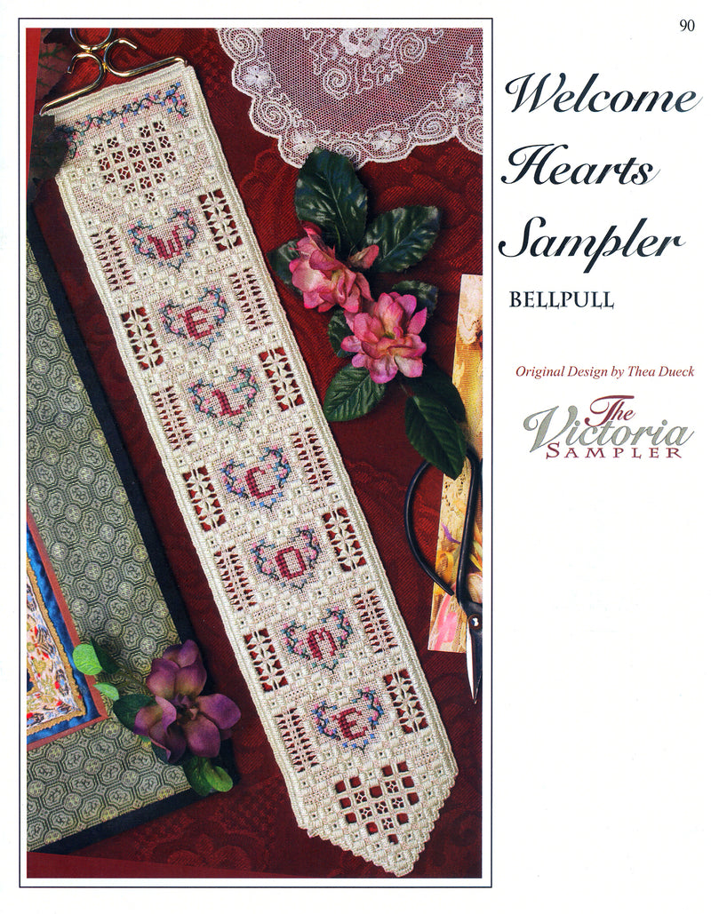 Welcome Hearts Sampler Leaflet