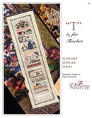 T is for Teacher Alphabet Sampler Leaflet - Part 20 of 24