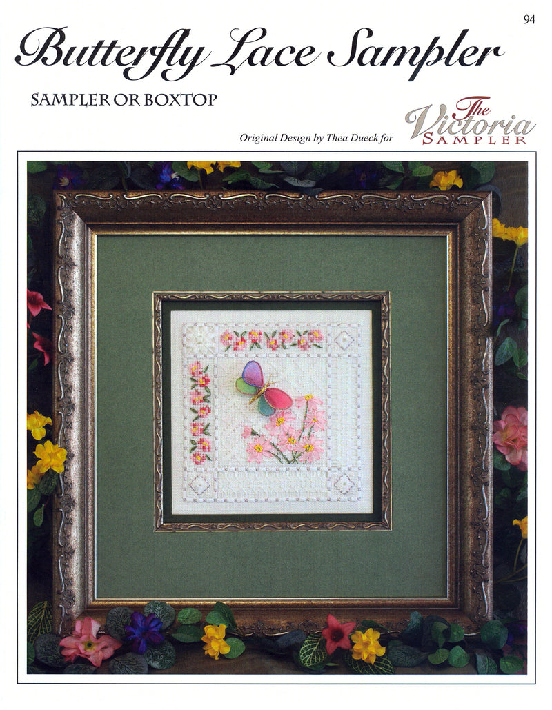 Butterfly Lace Sampler Leaflet