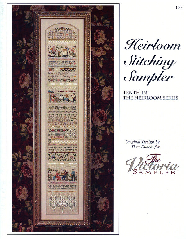 Heirloom Stitching Sampler Leaflet