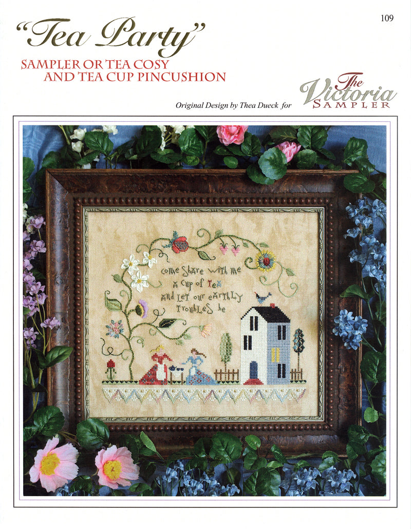 Tea Party Sampler Leaflet