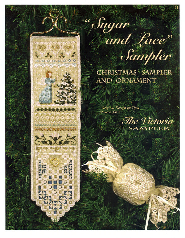 Sugar and Lace Sampler Leaflet