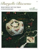 The Victoria Sampler - Bargello Biscornu Leaflet  - needlework design company