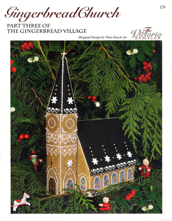 Gingerbread Church Leaflet - Part 3 of Gingerbread Village