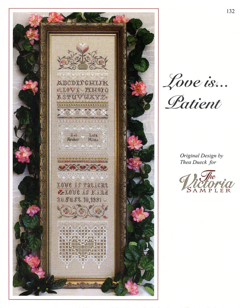 Love is Patient Sampler Leaflet