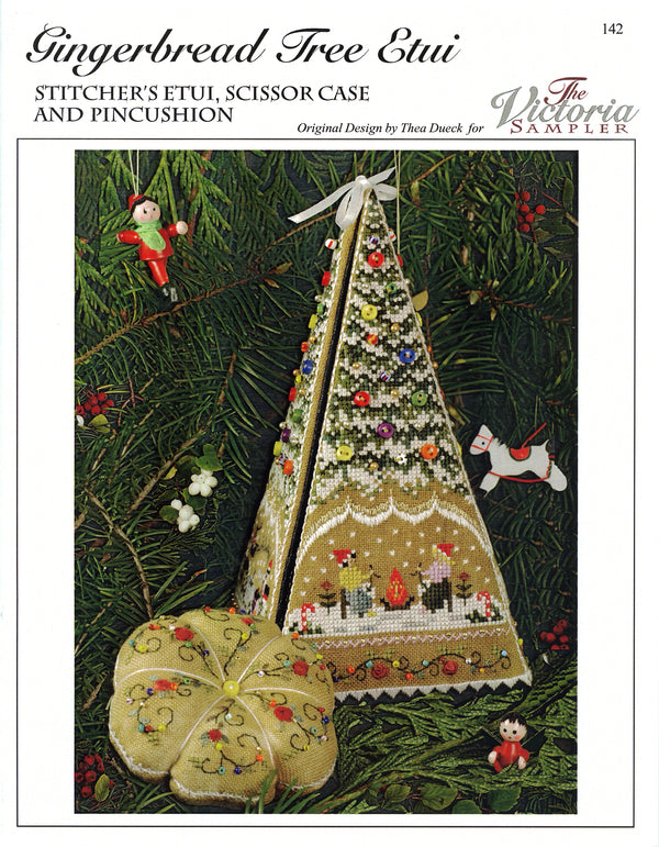 Gingerbread Tree Etui Leaflet - Part 2 of Gingerbread Village