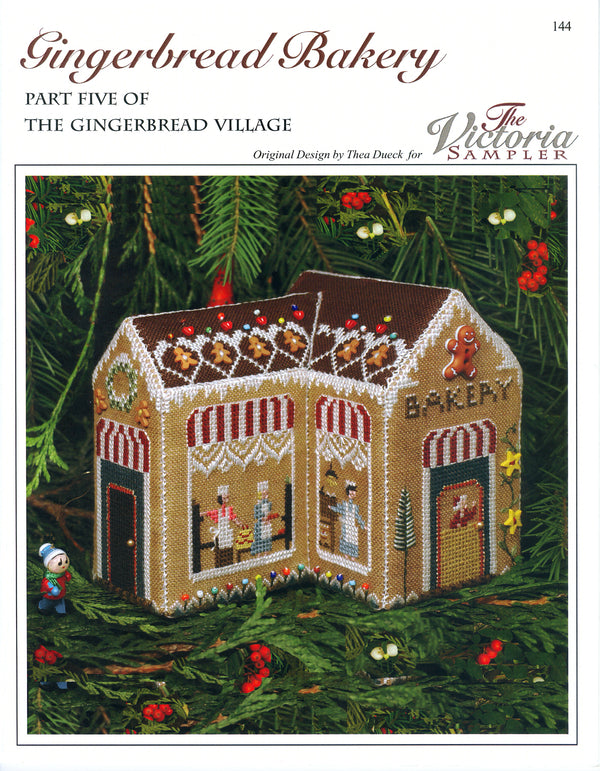 Gingerbread Bakery Leaflet - Part 5 of the Gingerbread Village